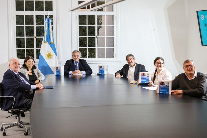 El Presidente Alberto Fernandez anunció la creación de un test de diagnóstico rápido desarrollado por científicos argentinos